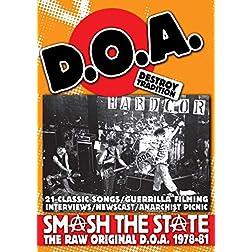 DOA - Smash The State: The Raw Original D.O.A. 1978-81