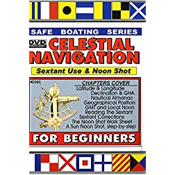 Celestial Navigation - Sextant Use &  the Sun Noon Shot