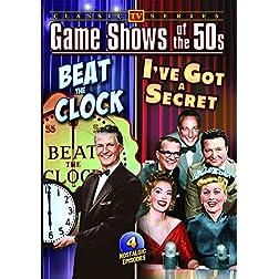 Classic 50's Quiz Shows: I've Got a Secret/Beat The Clock