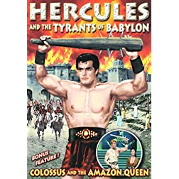 Colossus and The Amazon Queen/Hercules and The Tyrants of Babylon