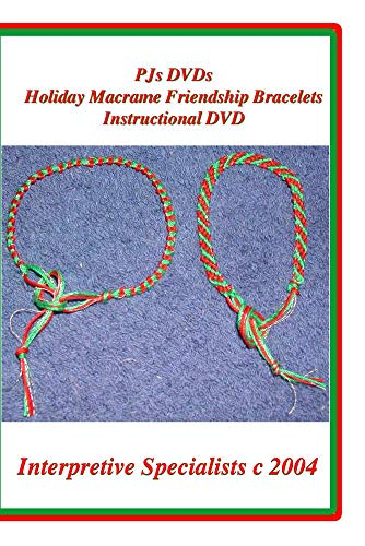 PJs DVDs Holiday Friendship Bracelets Instructional DVD