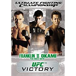 Ultimate Fighting Championship, Vol. 72: Victory