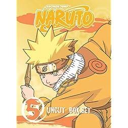 Naruto Uncut Boxed Set, Volume 5