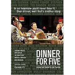 Dinner For Five, Episode 25: Jeff Garlin, Bob Odenkirk, Joe Mantenega, Michael McKean