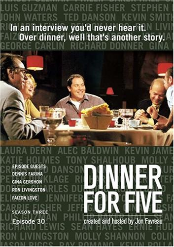 Dinner For Five, Episode 30: Gina Gershon, Ron Livingston, Faizon Love, Dennis Farina
