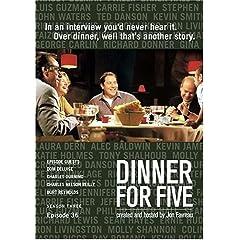 Dinner For Five, Episode 36: Dom DeLuise, Charles Nelson Reilly, Charles Durning, Burt Reynolds