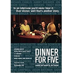 Dinner For Five, Episode 49: Kevin Smith (Host), Stan Lee, J.J. Abrams, Mark Hamill