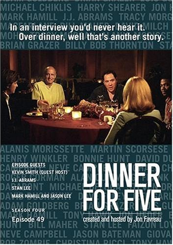 Dinner For Five, Episode 49: Kevin Smith (Host), Stan Lee, J.J. Abrams, Mark Hamill