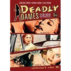 Deadly Dames Film Noir Collector's Set (The Naked Kiss / Slightly Scarlet / Blonde Ice)