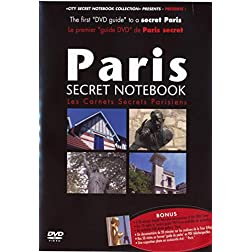 Paris Secret Notebook