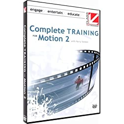 Class on Demand: Complete Training for Motion 2: Apple Educational Training Tutorial DVD