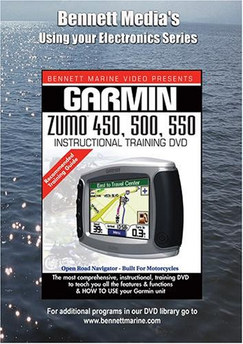 GARMIN ZUMO 450, 500, 550