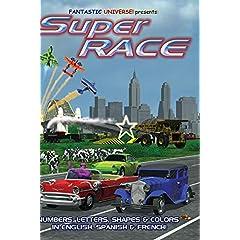 SuperRace: Car Race For Kids!