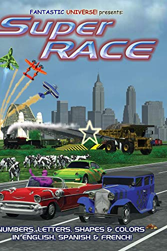 SuperRace: Car Race For Kids!