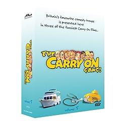 The Carry On Gang Gift Set Volume 5 - 3 DVD Set (Carry On Abroad -Carry On Again Doctor - Carry On Cabby)