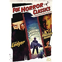 Fox Horror Classics Collection (The Lodger / Hangover Square / The Undying Monster)