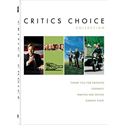 Critics Choice Collection (Thank You for Smoking / Sideways / Waking Ned Devine / Garden State)