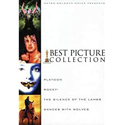 MGM Best Picture Gift Set (The Silence of the Lambs / Platoon / Dances with Wolves / Rocky)