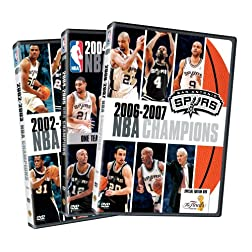 NBA Champions 2003 - 2007: San Antonio Spurs (3-Pack)