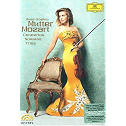 Anne-Sophie Mutter - Mozart Violin Concertos, Sonatas, and Trios