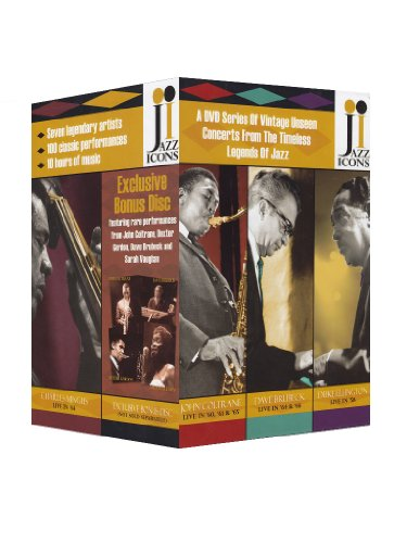 Jazz Icons 8 DVD Box Set featuring Bonus Disc