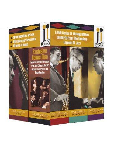 Jazz Icons 8 DVD Box Set featuring Bonus Disc