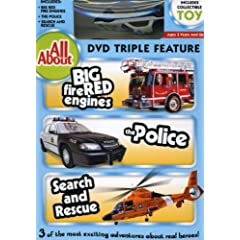 All About Fire Engines, The Police And Search & Rescue With Vehicle