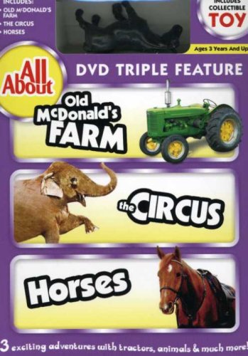 All About Old MacDonald's Farm, The Circus And Horses With Vehicle