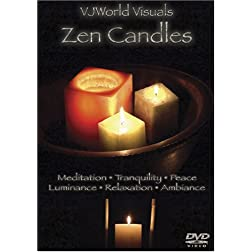 VJWorld Visuals Zen Candles (Shot in HD)