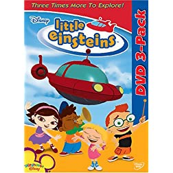 Little Einsteins 3-Pack (Our Big Huge Adventure / Team Up for Adventure / Mission Celebration)