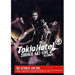 Tokio Hotel - Zimmer 483 Live (2 DVD Set)