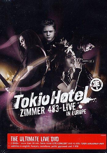 Tokio Hotel - Zimmer 483 Live (2 DVD Set)