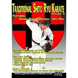 Traditional Shito Ryu Karate Volume 2