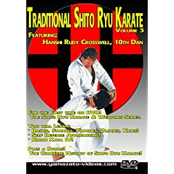 Traditional Shito Ryu Karate Volume 3