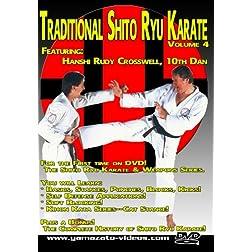 Traditional Shito Ryu Karate Volume 4
