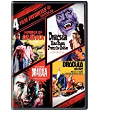 Draculas: 4 Film Favorites - Horror of Dracula / Dracula Has Risen from the Grave / Taste the Blood of Dracula / Dracula A.D. 1972 (2DVD)