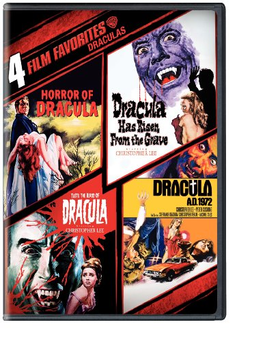 Draculas: 4 Film Favorites - Horror of Dracula / Dracula Has Risen from the Grave / Taste the Blood of Dracula / Dracula A.D. 1972 (2DVD)