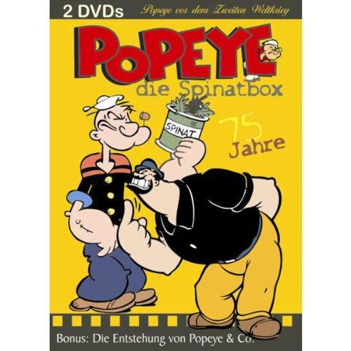 Popeye der Seemann - die Spinatbox