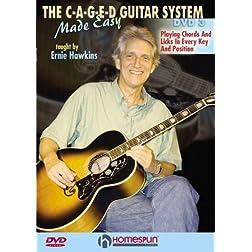The C-A-G-E-D Guitar System Made Easy DVD#3