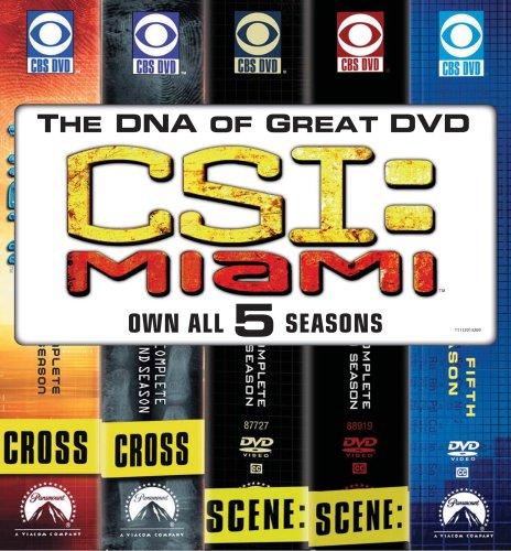 CSI Miami: Five Season Pack