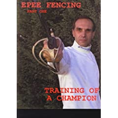 Training of a Fencing Champion Epee Fencing Part 1