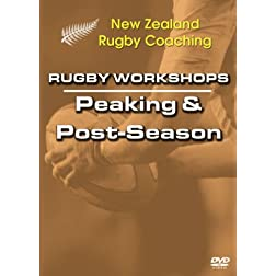 Rugby Workshops: Peaking and Post Season