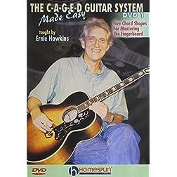 Ernie Hawkins: C-A-G-E-D Guitar System Made Easy, Vol. 1 2 and 3