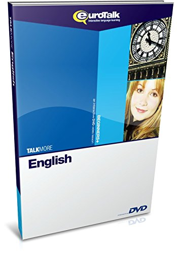 EuroTalk Interactive - Talk More! English (UK); an interactive language learning DVD for beginners+
