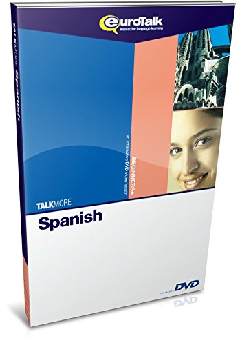 EuroTalk Interactive - Talk More! Spanish; an interactive language learning DVD for beginners+