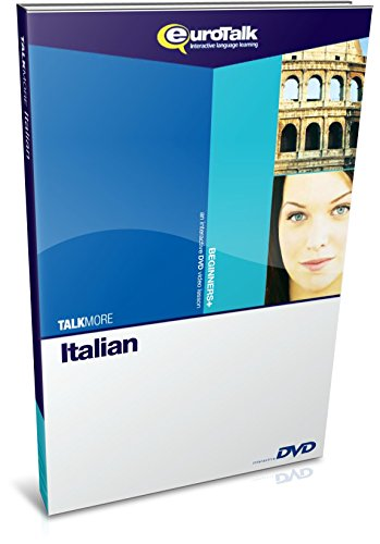 EuroTalk Interactive - Talk More! Italian; an interactive language learning DVD for beginners+