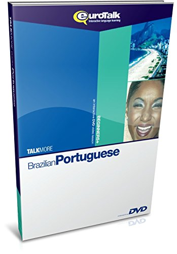 EuroTalk Interactive - Talk More! Portuguese (Brazilian); an interactive language learning DVD for beginners+