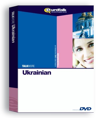 EuroTalk Interactive - Talk More! Ukrainian; an interactive language learning DVD for beginners+