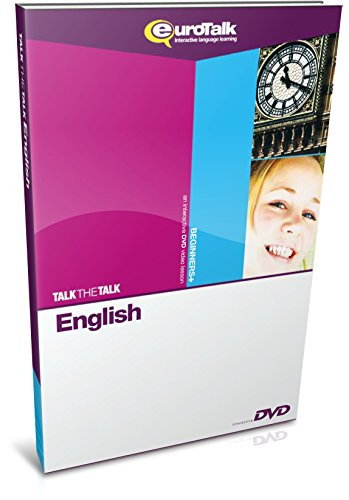 EuroTalk Interactive - Talk The Talk! English (UK); an interactive language learning DVD for teens