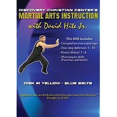 Martial Arts Instruction with David Hite Jr. - Yellow/Blue Belts